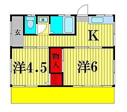 [一戸建] 千葉県松戸市吉井町 の賃貸【/】の間取り