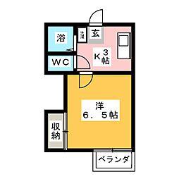 第1MHハウスA[1階]の間取り