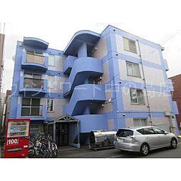 北海道札幌市豊平区平岸三条9丁目の賃貸マンションの外観