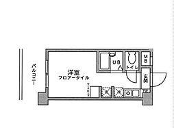 アックス横浜戸塚[402号室]の間取り