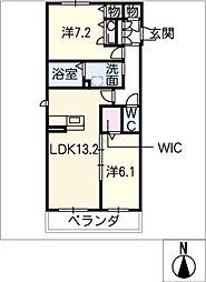 仮)シャーメゾン浜田町[2階]の間取り