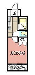 トーケン設計戸畑駅前I[905号室]の間取り