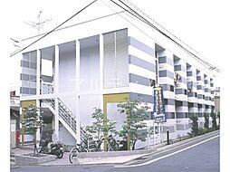 京都府京都市東山区福稲高原町の賃貸アパートの外観