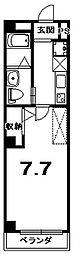 RUSCELLO-UNO[4階]の間取り