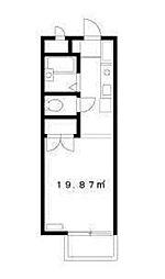 いーすとびゅう[1階]の間取り