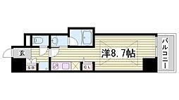 J-cube KOBE[3階]の間取り