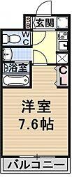 仮称)御陵別所学生マンション[108号室号室]の間取り