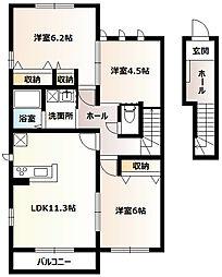 KYOEI[2階]の間取り