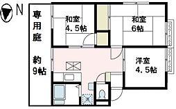 ラ・フォーレ湘南[A1号室号室]の間取り