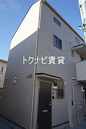 東京都狛江市元和泉1丁目の賃貸アパートの外観