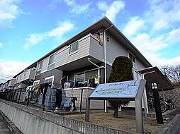 兵庫県明石市魚住町西岡の賃貸アパートの外観