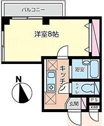 北綾瀬第11秦ビル[4階]の間取り