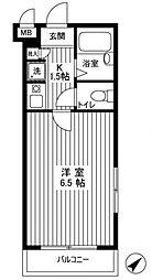 スカイコート志村坂上[2階]の間取り