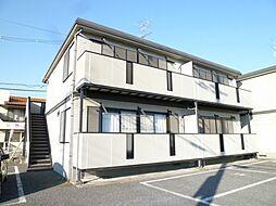 青山コーポC[2階]の外観