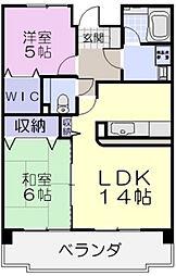 CENTURY HIGHLAND EAST[4階]の間取り