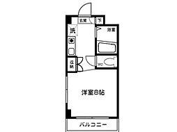 川野ビル[1階]の間取り
