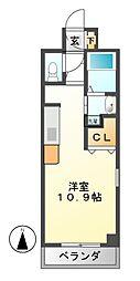 コート新栄[9階]の間取り