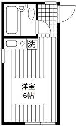 イルソーレ笹塚[105号室]の間取り