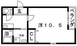 フジパレスソレイユ[3階]の間取り