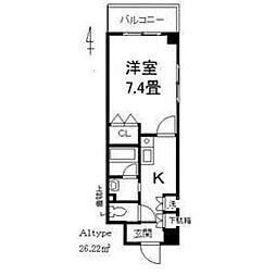 JUNWAマンションII[5階]の間取り