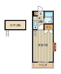 メゾン新座[2階]の間取り