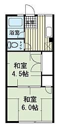 シティハイムグレース[2階]の間取り