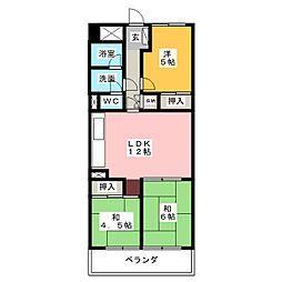 日商岩井栄ハイツ 509[5階]の間取り