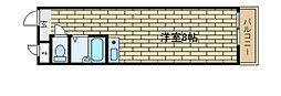 兵庫県神戸市須磨区妙法寺字竹向の賃貸マンションの間取り