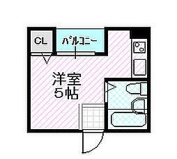 サン高倉[2階]の間取り