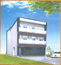 (仮称)上田辺マンション[2階]の外観