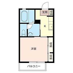 杏林の家[2階]の間取り