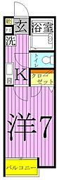 ADONIS HOUSE[1階]の間取り