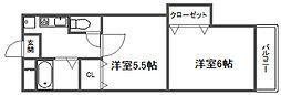 FINESS 4[505号室]の間取り