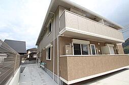 広島県広島市安佐北区亀山南2丁目の賃貸アパートの外観