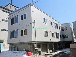 北海道札幌市東区北五十一条東2丁目の賃貸アパートの外観