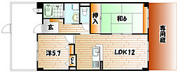 志井ガーデンヒルズ[1階]の間取り