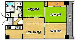 MUROMACHI PLACE[1003号室号室]の間取り