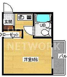 第11長栄シャトー泉[307号室号室]の間取り