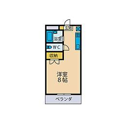 フィールド・ハイム[2階]の間取り