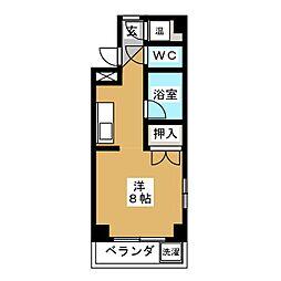 アートハウスK[1階]の間取り