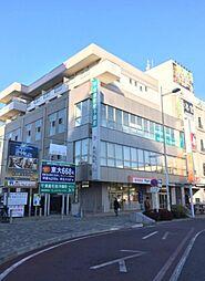 埼玉県越谷市赤山本町の賃貸マンションの外観