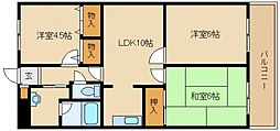 ル・ミュー貝塚[8階]の間取り