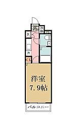 コンフォリア谷塚[0603号室]の間取り