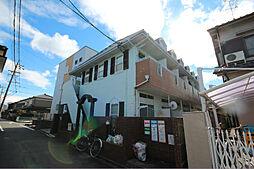 愛知県名古屋市中川区中郷1丁目の賃貸アパートの外観