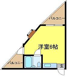 平野駅 2.7万円