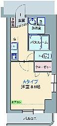 カナルフィー[6階]の間取り