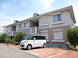 大阪府富田林市寿町4丁目の賃貸アパートの外観