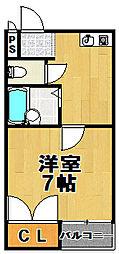 日伸第3マンション[4階]の間取り