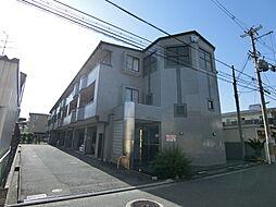 大阪府藤井寺市沢田2丁目の賃貸マンションの外観
