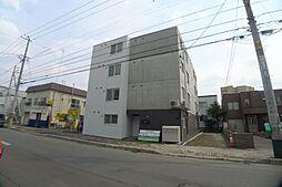 北海道札幌市西区二十四軒四条7丁目の賃貸マンションの外観
